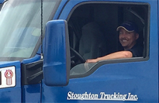 drive truck for stoughton trucking